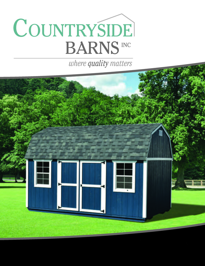 Image of Countryside Barns Brochure - Page 1