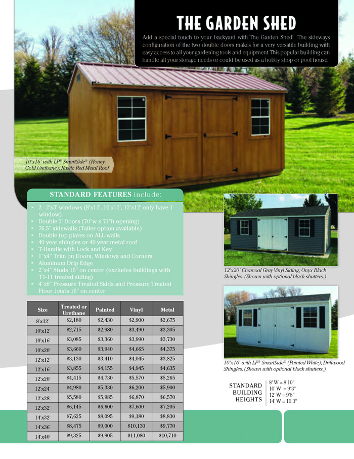 Image of Countryside Barns Brochure - Page 3
