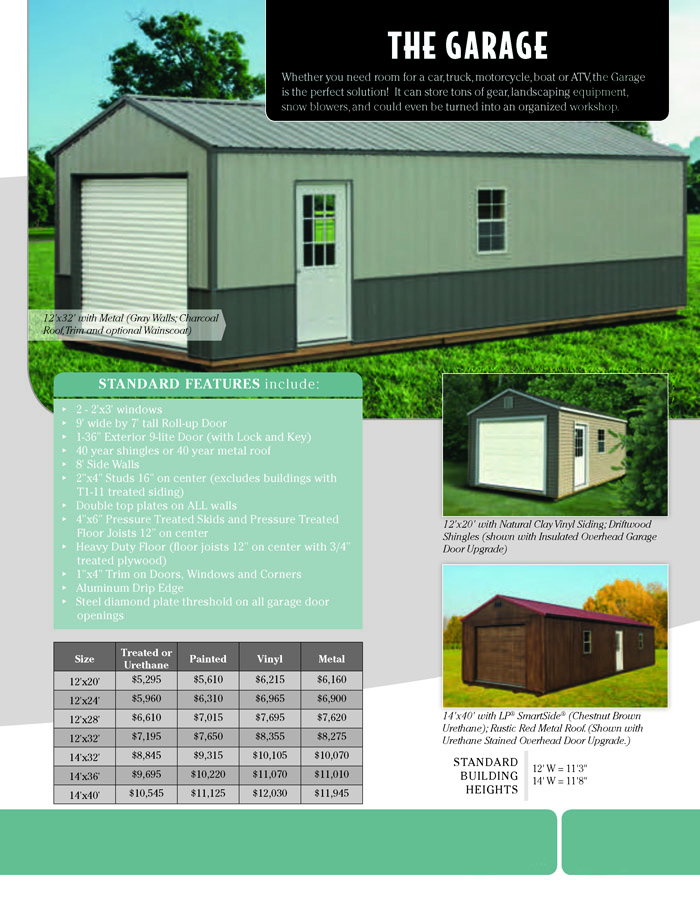 Image of Countryside Barns Brochure - Page 7