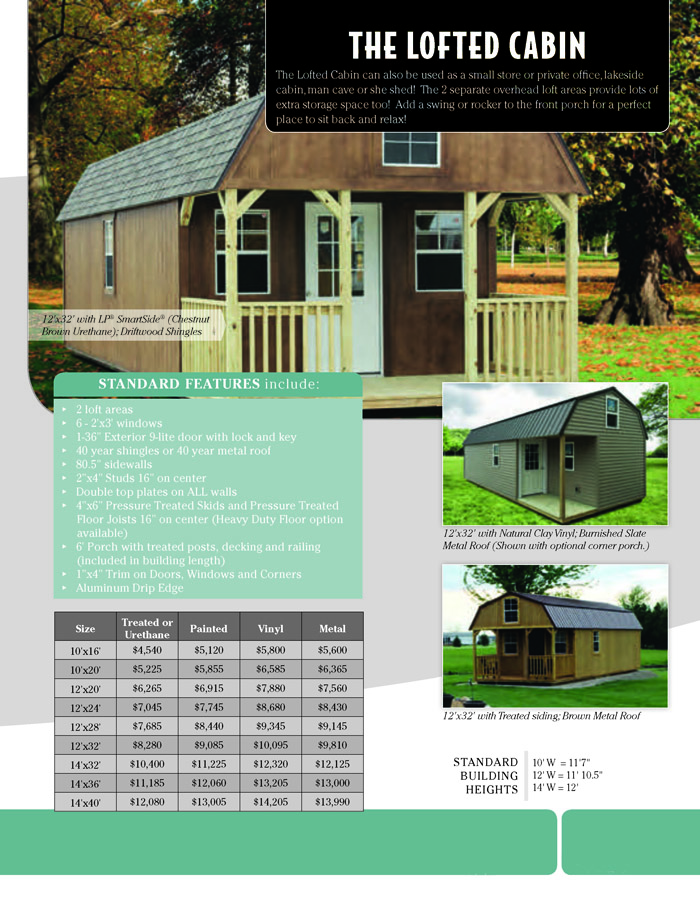 Image of Countryside Barns Brochure - Page 9
