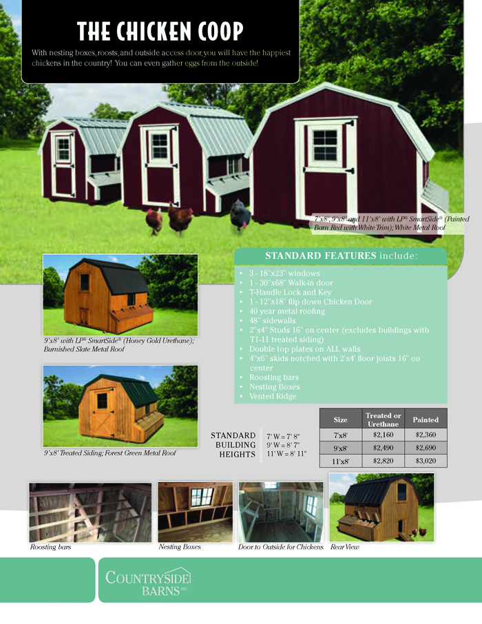 Image of Countryside Barns Brochure - Page 11