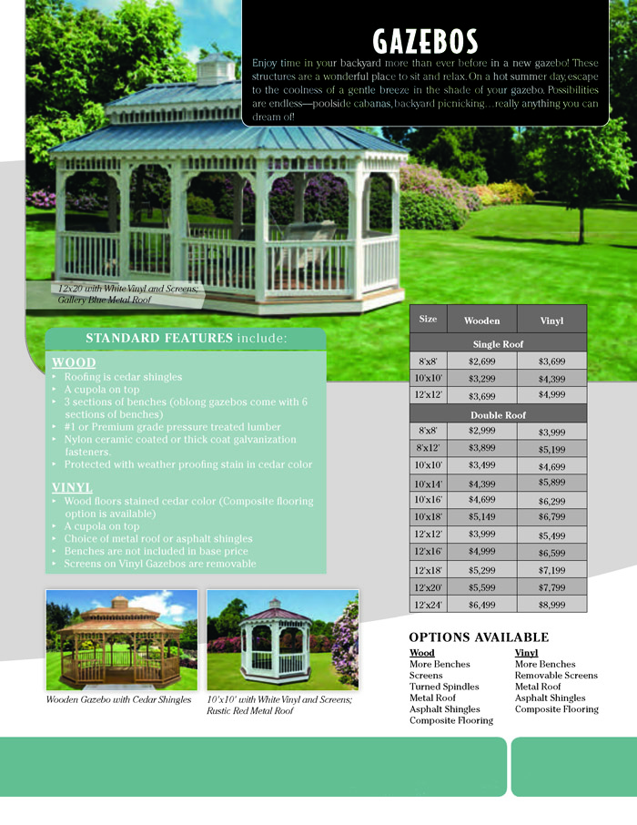 Image of Countryside Barns Brochure - Page 12
