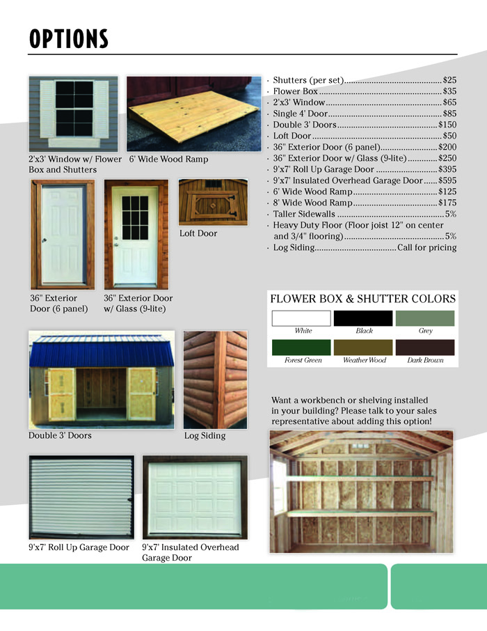 Image of Countryside Barns Brochure - Page 13