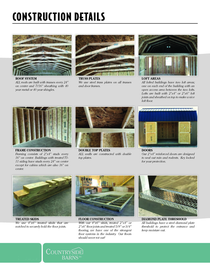 Image of Countryside Barns Brochure - Page 14